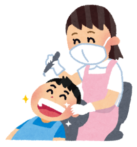 口臭対策:歯のクリーニング